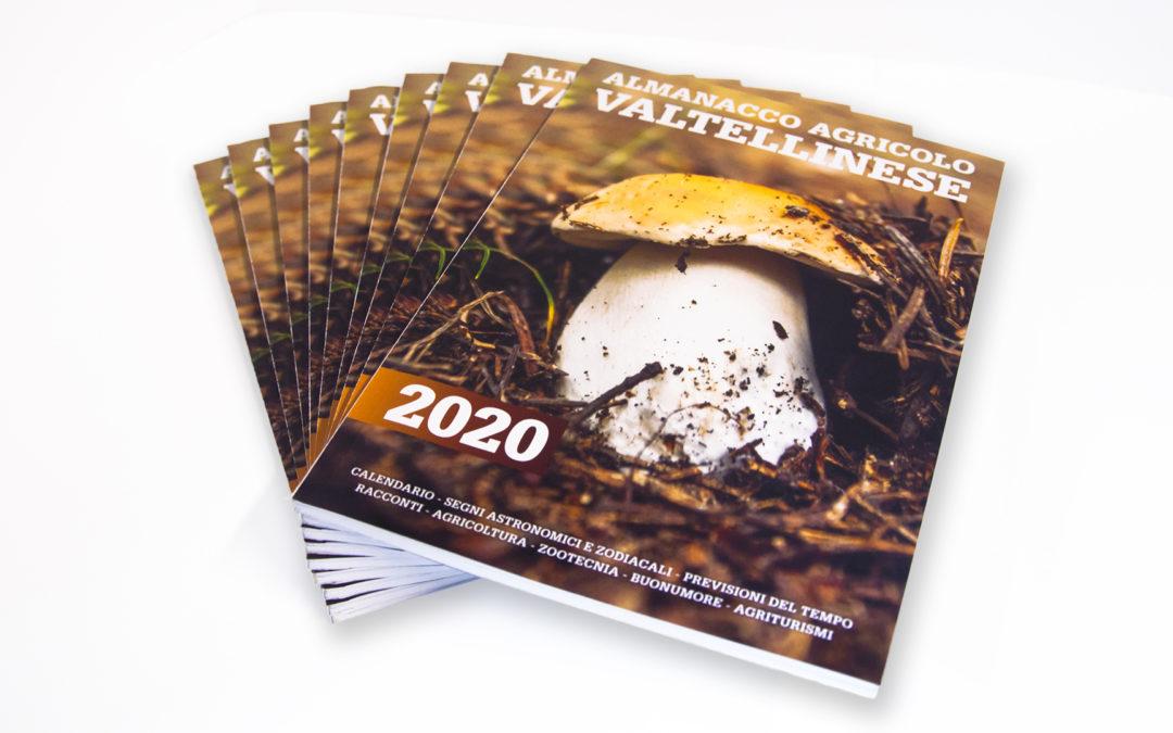 Almanacco Agricolo Valtellinese, da lunedì in edicola l'edizione 2020.